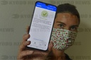 Smartphone, phone, application e-Mask (eRouska), smart quarantine
