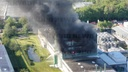 Major fire in chemical plant