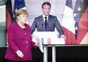Press conference Merkel and Macron