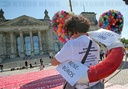 Protests of the travel industry - Berlin