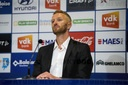 SOCCER JPL KAA GENT PRESS CONFERENCE
