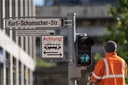 Four traffic lights in Hannover get couple symbols