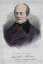 Andres Bello (1781Ð1865) Venezuelan humanist, poet, philosopher. Engraving, 1881. Colored.