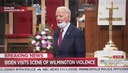 Joe Biden Meets Faith Leaders at AME Church