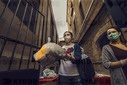 COVID-19: ECONOMY: Food Bank In Barcelona