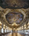 Great Gallery with ceiling fresco depicting allegories of War