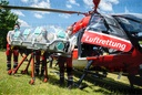 "Isolation stretcher for rescue helicopter ""Christoph Niedersachsen"