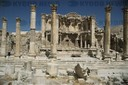 Gerasa (Jerash) in the north of Jordan, was a Hellenistic-Roman town which became rich as a safe trading post for Nabataean,