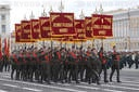 Victory Day Parade Rehearsal in Saint-Petersburg, Russia - 20 Jun 2020