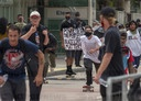 San Diego Black Lives Matter ''Rolling for Rights'' Skate Protest