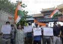 Chinese Indian protest of killing Indian soldiers