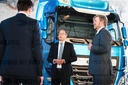 King Willem-Alexander visited DAF Trucks in Eindhoven