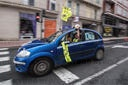 Caravan protest in Lugo, Spain - 28 Jun 2020