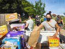 Black Lives Matter Organizes Supply Drive for Des Moines Neighborhoods