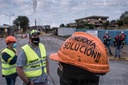 Alcoa workers strike in San Cibrao, Spain - 30 Jun 2020