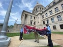 Mississippi decommissions old state flag at Capital