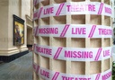 London Theatres Taped Up To Support The Missing Live Theatre Campaign