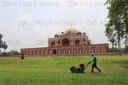 World Heritage Site Humayun Tomb Reopen in Delhi, India - 06 Jul 2020