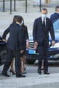 Spanish Royals attends Covid-19 mass Funeral