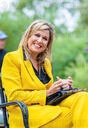 Queen Maxima visits the tourism sector, climbing forest in Westenschouwen and Ons Buiten campsite in Oostkapelle, in the provinc
