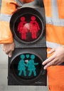 Same-sex traffic light couples
