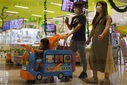 People shopping at AEON Mall Amid Coronavirus (COVID-19) crisis in Tokyo, Japan - 10 Jul 2020