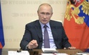 Russian President Putin Holds Teleconference with the Council for Strategic Development
