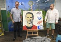 Dominik Hasek, Milos Krecek, a portrait of legendary