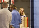 * NO WEB * * SPECIAL FEE EXCLUSIVE * Rome, Eleonora Abbagnato shopping together with her husband Federico