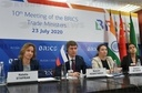 10th Meeting of the BRICS Trade Ministers