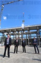 Topping-out ceremony for new steam locomotive workshop of HSB