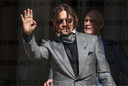 Amber Heard and Johnny Depp arrive for final day of libel trial in London, UK - 28 Jul 2020