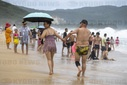 The Chinese spend their holidays on Hainan island