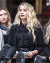 Amber Heard Gives a statement outside the Royal Courts Of Justice in London, UK - 28 Jul 2020