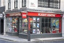 The Flight Centre stores remain shut due to Covid-19 crisis in London, UK - 28 Jul 2020