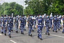 Rehearsals ahead of 74th Independence Day celebrations Amid COVID-19 Crisis in Kolkata, India - 03 Aug 2020