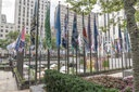 NY: The Flag Project at Rockefeller Center