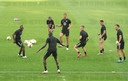 Training session of Wolfsburg in Kyiv