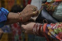 Pakistan: Hindu people performing Rakhi