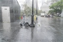 Tropical storm Isaias whips through New York City