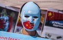 German Uyghurs Protest China