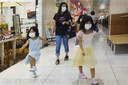 Shoppers wear facemasks amid Coronavirus pandemic in Tokyo, Japan - 12 Aug 2020