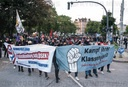 Demo against raid on suspected left-wing extremists