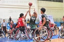 Wheelchair basketball championship in Bangkok, Thailand - 06 Sep 2020