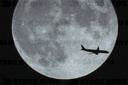 CHINA MOON AND PLANE