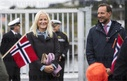 The Crown Prince and Crown Princess in Kristiansund