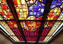 Particle physics church window in Kalkar finished