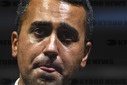The Minister of Foreign Affairs and member of the political 5 Star Movement, Luigi Di Maio