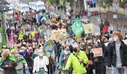 Climate protest Fridays for Future - Frankfurt am Main