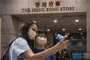 Thousands visit the Hong Kong museum of history on the last day of opening in Hong Kong, China - 18 Oct 2020